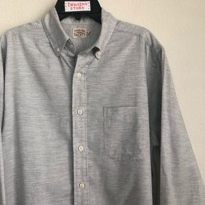 Faherty Heather Front Pocket Button Down LS Shirt